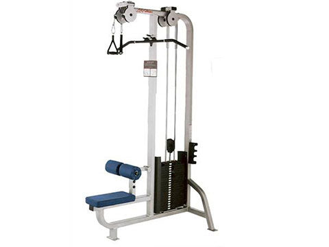 Factory photo of a Refurbished Life Fitness Pro Lat Pulldown