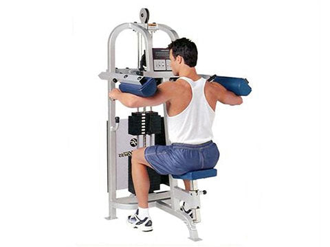 Factory photo of a Refurbished Life Fitness Pro Lateral Raise