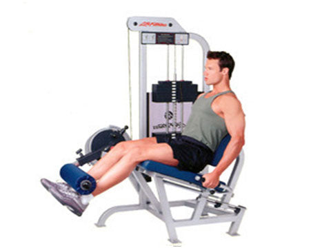 Factory photo of a Refurbished Life Fitness Pro Leg Extension