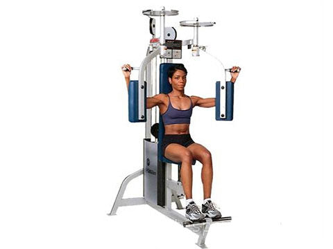 Factory photo of a Refurbished Life Fitness Pro Pec Fly