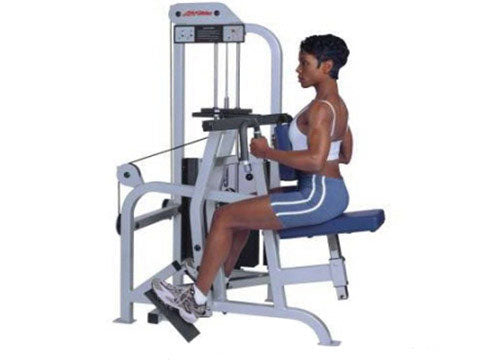 Factory photo of a Used Life Fitness Pro Seated Row