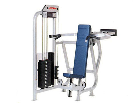Factory photo of a Refurbished Life Fitness Pro Shoulder Press