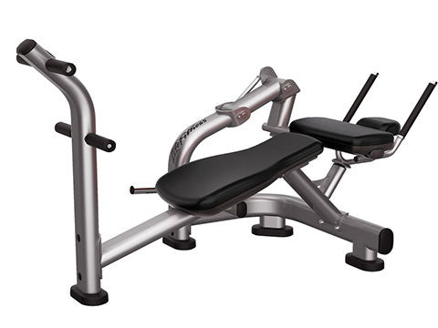 Factory photo of a Refurbished Life Fitness Signature Abdominal Crunch Bench