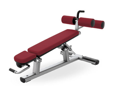 Factory photo of a Refurbished Life Fitness Signature Adjustable Decline Bench