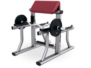 Factory photo of a Used Life Fitness Signature Arm Preacher Curl