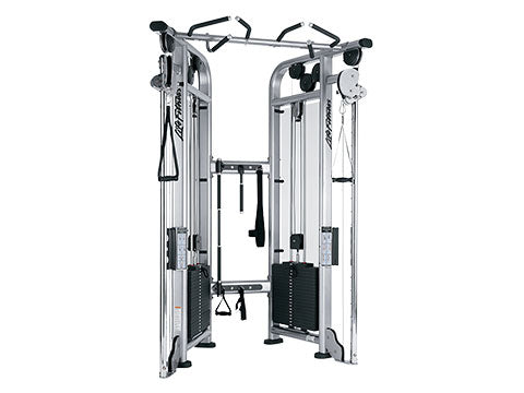 Factory photo of a Used Life Fitness Signature Cable Motion Dual Adjustable Pulley