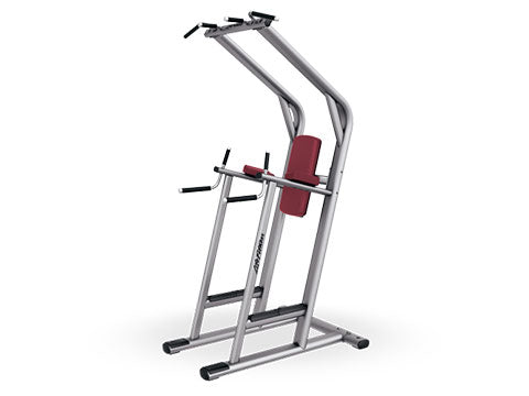 Factory photo of a Refurbished Life Fitness Signature Chin Dip Leg Raise