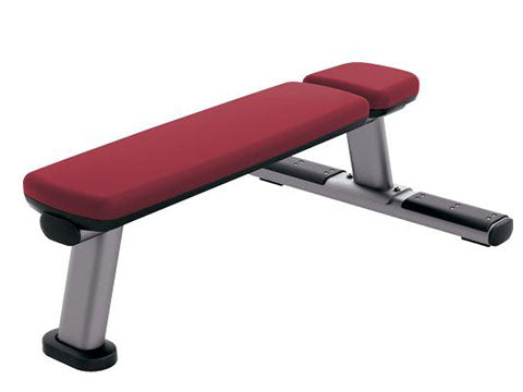 Factory photo of a Refurbished Life Fitness Signature Flat Bench