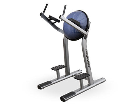 Factory photo of a Refurbished Life Fitness Signature Leg Raise VKR with Bosu Ball
