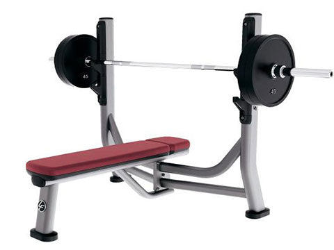 Factory photo of a Refurbished Life Fitness Signature Olympic Flat Bench