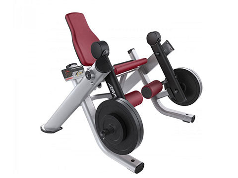 Factory photo of a Refurbished Life Fitness Signature Plate Loaded Leg Extension