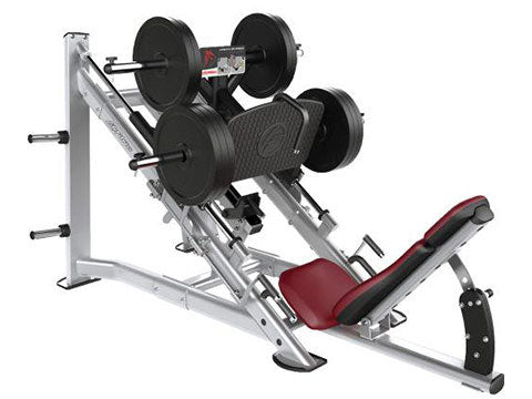 Factory photo of a Refurbished Life Fitness Signature Plate Loaded Linear Leg Press