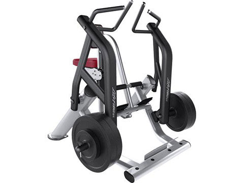 Factory photo of a Used Life Fitness Signature Plate Loaded Row