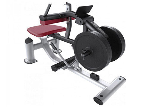 Factory photo of a Refurbished Life Fitness Signature Plate Loaded Seated Calf Raise
