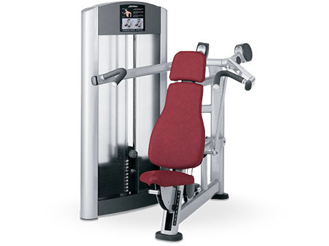Factory photo of a Refurbished Life Fitness Signature Shoulder Press