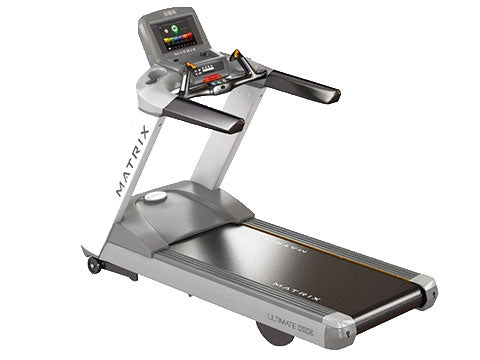 Factory photo of a Used Matrix Fitness T7xe Treadmill