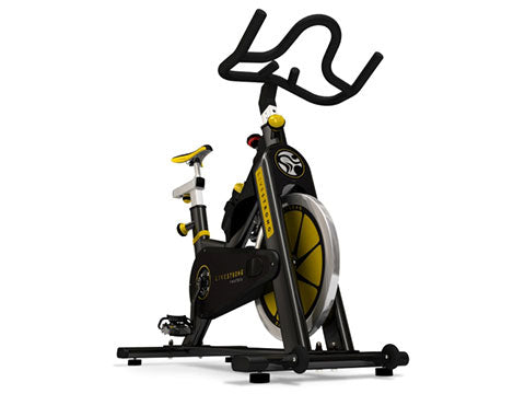 Factory photo of a Refurbished Matrix LiveStrong E Series Indoor Group Cycling Bike