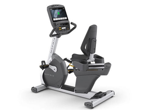 Factory photo of a Refurbished Matrix R7xi Recumbent Bike