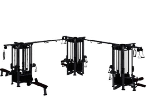 Factory photo of a Refurbished Cybex Jungle Gym 12 stack Multi Station