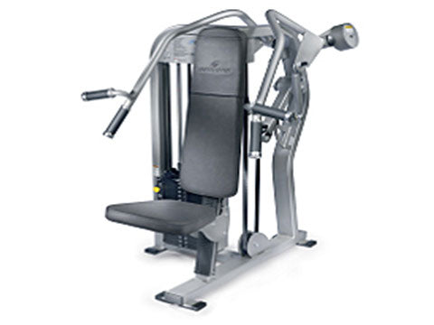 Factory photo of a Used Nautilus Nitro Overhead Press