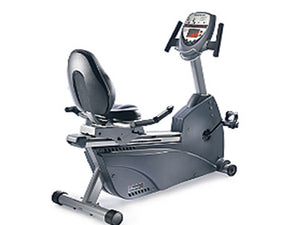 Factory photo of a Used Nautilus NR3000 Consumer Recumbent Bike
