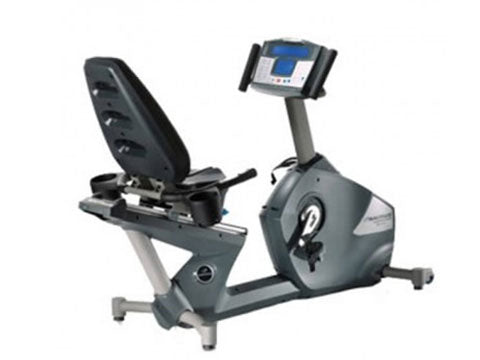Factory photo of a Refurbished Nautilus R916 Commercial Recumbent Bike