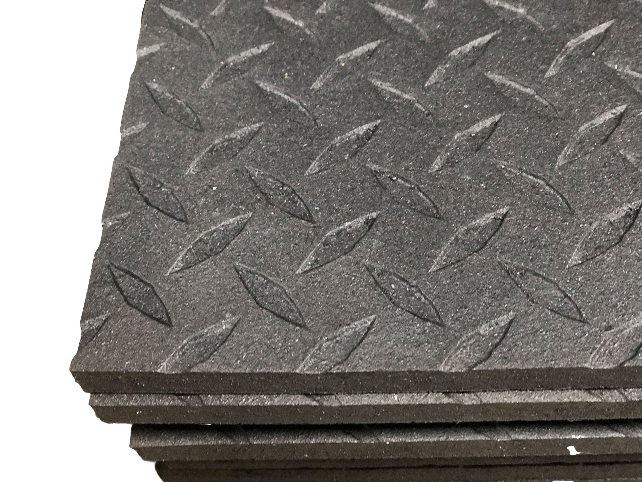 New GFI 4x6 Rubber Bully Mat with black diamond pattern