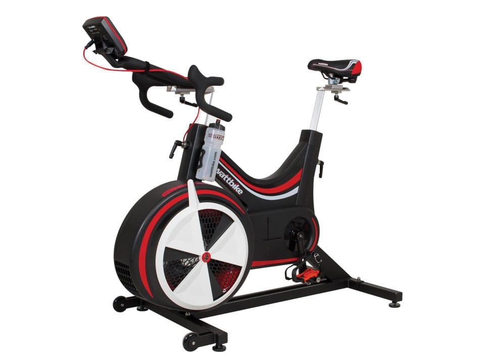 Image of a new Woodway Wattbike Pro Group Cycling Bike