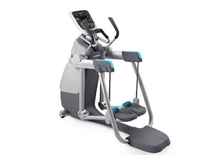 Factory photo of a Refurbished Precor AMT 835 with Open Stride and P30 Console