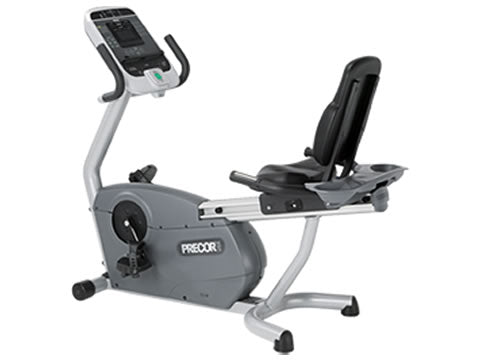 Factory photo of a Used Precor C846i Experience Recumbent Bike