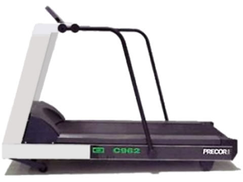 Factory photo of a Refurbished Precor C962i Treadmill