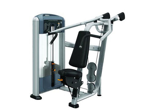 Factory photo of a Used Precor Discovery Series Converging Shoulder Press