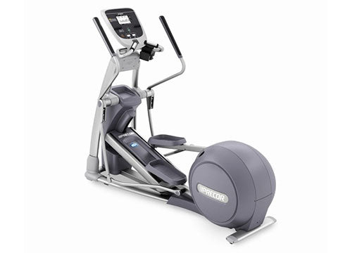 Factory photo of a Refurbished Precor EFX825 or EFX10 Elliptical with P20 Console