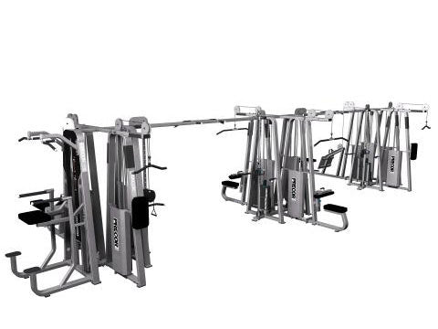 Factory photo of a Refurbished Precor Icarian 12 stack Multi Station