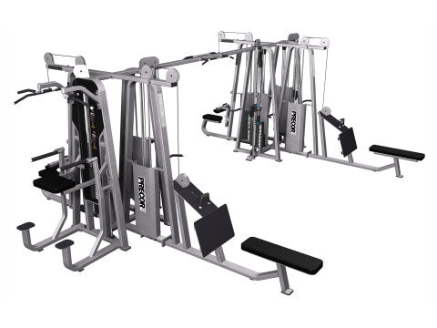 Factory photo of a Refurbished Precor Icarian 8 stack Multi Station