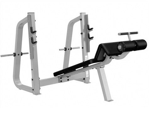 Factory photo of a Used Precor Icarian Olympic Decline Bench