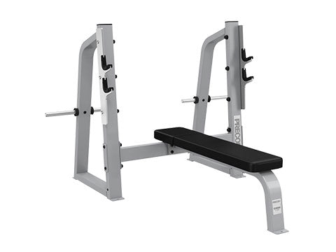 Factory photo of a Used Precor Icarian Olympic Flat Bench