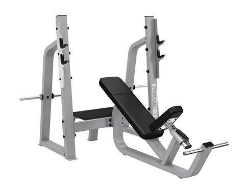 Factory photo of a Refurbished Precor Icarian Olympic Incline Bench