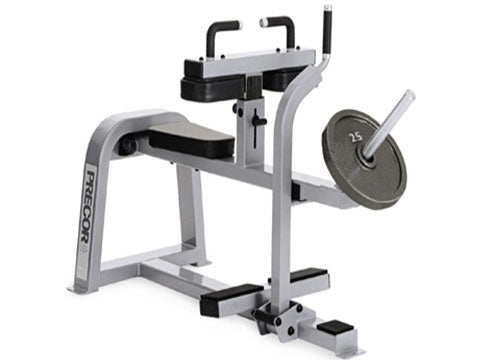 Factory photo of a Used Precor Icarian Plate Loaded Seated Calf Raise