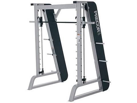 Factory photo of a Used Precor Icarian Plate Loaded Smith Machine
