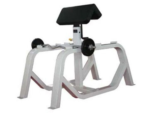 Factory photo of a Used Precor Icarian Standing Preacher Curl