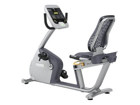 Factory photo of a Used Precor RBK815 Recumbent Bike