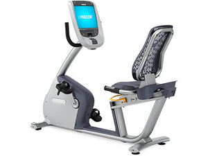 Factory photo of a Used Precor RBK885 Recumbent Bike