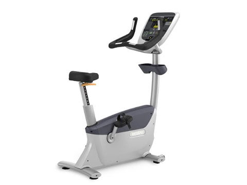 Factory photo of a Refurbished Precor UBK835 Upright Bike