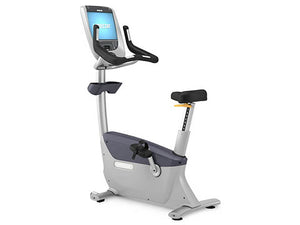 Factory photo of a Used Precor UBK885 Upright Bike