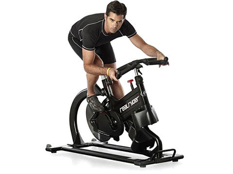 Factory photo of a Refurbished RealRyder ABF8 Indoor Group Cycling Bike