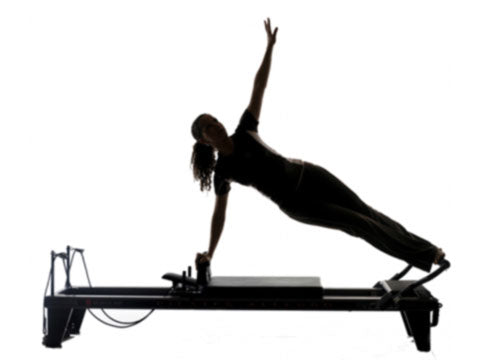 Factory photo of a Refurbished Balanced Body Studio Reformer