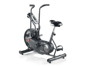 Factory photo of a New Schwinn Airdyne AD6 Upright Exercise Bike