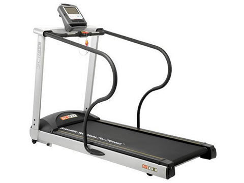 Factory photo of a Refurbished SciFit DC1000 Treadmill