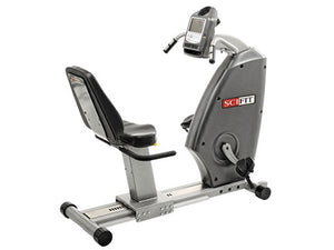 Factory photo of a Refurbished SciFit ISO 7000R Recumbent Bike